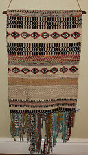 * REDUCED *  Boho Woven Jute & Wool Wall Hanging   BRAND NEW     STUNNING