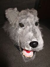 AS IS - gray grey BIG BAD WOLF HAT little red ridinghood halloween costume adult