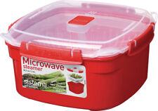 Sistema Microondas vapores 2,4l COCER Alimentos rápidamente Saludable NUEVO