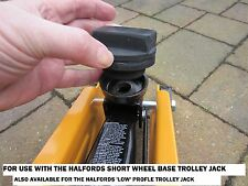 BMW TROLLEY JACK ADAPTER HALFORDS In cup Type rubber pad block jacking pad tool