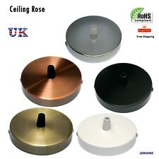 Ceiling Rose  SINGLE POINT DROP OUTLET CEILING ROSE for pendent light shades UK