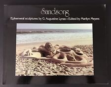 Signed First Edition Sandsong Ephemeral Sculpture Augustine Lynas Paperback