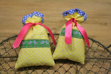 2 Lavendelsäckchen  Lavendel landhaus  Weihnachten x-mas dots Pünktchen Vögel