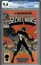 Marvel Super Heroes Secret Wars #8 CGC 9.4 NM Origin of Symbiote Venom WHITE