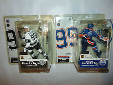 2) McFarlane Legends Figure Wayne Gretzky Edmonton Oilers LA KINGS NHL Hockey *