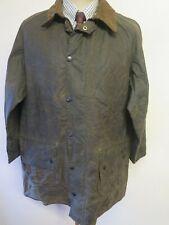 "Pre 1987 Vintage Barbour A123 Gamefair Waxed jacket - L 42"" Euro 52 - Sage Green"