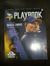 Minnesota Vikings Playbook 12/1/16 vs Dallas Cowboys only available at game
