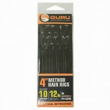 GURU MWG SPEED STOP METHOD HAIR RIGS FEEDER HAIR RIGS ALL SIZES COARSE FISHING