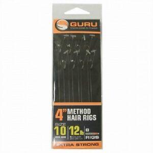 GURU MWG SPEED STOP METHOD HAIR RIGS FEEDER HAIR RIGS ALL SIZES BARBLESS