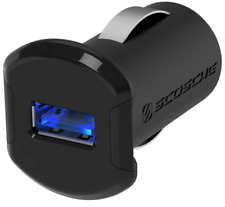 Scosche ReVolt™ 12W USB Car Charger with Illuminated USB Port USBC121M