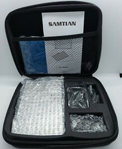 Samtian Dimmable 160 LED Video Light Panel Charger Battery Kit TL-160 Carry Case
