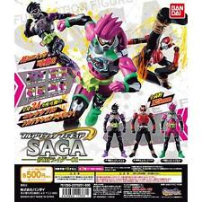 Bandai Full Action Figure SAGA Masked Rider 01 Set 3 Gashapon EX-Aid Genm Japan