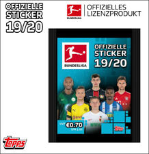 Topps Bundesliga Sticker 2019/2020 Sammelalbum +  2 x Display / 72 Tüten  19/20