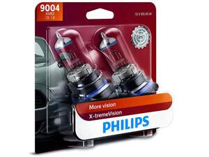 2x NEW PHILIPS X-TREME VISION 100% 9004XVB2 HEADLIGHT DRIVING LIGHT BULBS