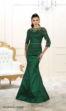 PROM MERMAID GOWN FORMAL EVENING RED CARPET SPECIAL OCCASION MODEST GALA DRESSES