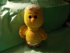 Amigurumi Crocheted Chick