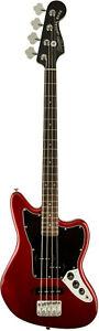 Squier Vintage Modified Jaguar Bass, Short Scale, Candy Apple Red, gut erhalten
