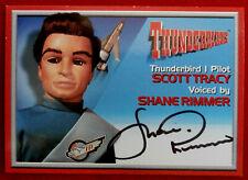 Thunderbirds - SHANE RIMMER, Scott - Personally Signed Autograph Card - 2001