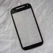 Black Front Screen Outer Glass Lens Repair Part For Motorola Moto E 2nd Gen 2015