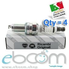 55249868 4 x CANDELE ORIGINALI FIAT PER ALFA ROMEO GIULIETTA/MITO/600/PANDA
