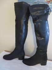 Leather Unbranded Over Knee Boots for Women