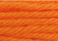 "Latch Hook Yarn - Orange Approx 400 strands 3ply 2.5"" long. Use on 4.5hpi canvas"