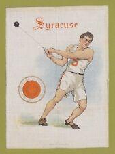 1910 LG Murad tobacco silk S21 SYRACUSE UNIVERSITY  Hammer Throw  TOUGH