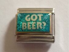 9mm Classic Size  Italian Charms E87 Got Beer?