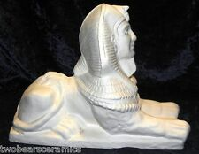 Ready To Paint Ceramic Large Egyptian Sphinx 25cm Long