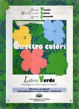 A26 Quattro colori Libro Verde Mariotti Sclafani D'Anna