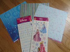 Disney Princess Scrapbooking Paper & Sticker Set Cinderella