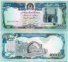 P63 Afghanistan 10 000 Afganis Banknote Money UNC