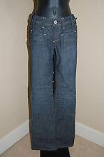 "YANUK Low Rise Flare Leg 6 Pocket Styling NEW Jeans~Size 23~Inseam 33.5"""