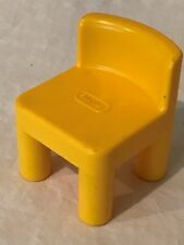 Little Tikes Doll House Size Yellow Chair Dollhouse Yellow Replacement Part