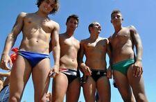 Shirtless Male Beefcake Muscular Athletic Beach Speedo Jocks PHOTO 4X6 C387