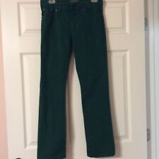 Ralph Lauren Green Denim Jeans Size 4