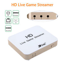 HDMI Live Game Streamer Video Capture Card Full HD 1080P Fr Xbox360 One Live PS3