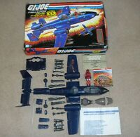 Lot 1984 GI Joe Cobra Rattler w/ Blueprints *Complete in Box * No Broken Parts*