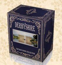 130 Antique Books on DVD Derbyshire History & Genealogy Local Derby Registers J4