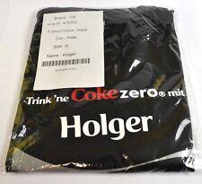 COCA-COLA COKE Holger CAMISETA NEGRA tamaño XL NOMBRE de Pila con