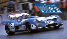 Calcas Matra MS 650 Brands Hatch 1970 51 1:32 1:43 1:24 1:18 MS650 decals