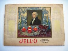 """Vintage """"Jell-O"""" Dessert Booklet w/ Pictures by """"Marion Powers""""  *"""