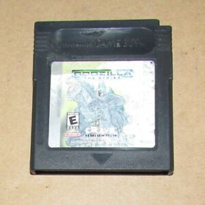 Godzilla: The Series for Nintendo Game Boy Color Fast Shipping Authentic