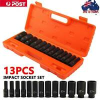 "3Pcs 1/2"" Drive Deep Impact Socket Set Metric Garage Workshop Air Tools 10-32mm"