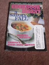Cookbook Digest ~ Savory Fall 1998 Chopped Winter Salad with Lemon Mint Dressing