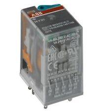 Bag of 9 NEW ABB 1SVR405612R1100 Interface Relays 250V 10A 3 co / CR-M024DC3L
