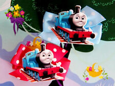 Thomas The Tank Engine & Friends Train Inspired Girl Toddler Handmade Hair Clip