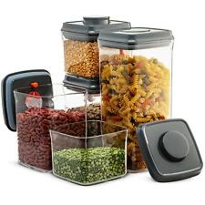 Airtight Food Storage Containers - 10 Piece Set- Easy To Open and Lock Pop Lids