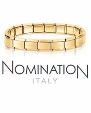 Nomination Bracelet 18 Links Yellow Gold Only £39.95