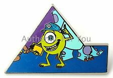 NEW Disneyland Diamond 60th Mystery Box Puzzle #4 Monsters Inc MIKE Pin LE550